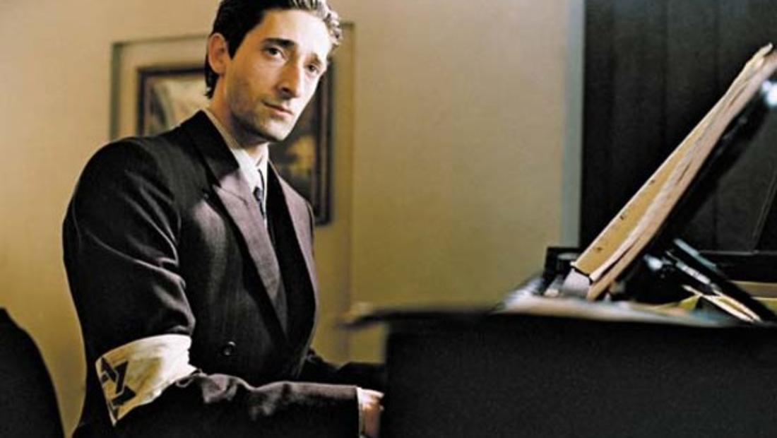 "Adrian Brody in ""Der Pianist"""