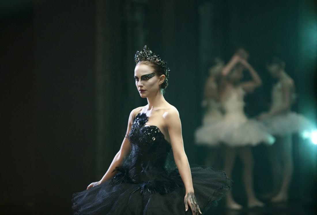 "Natalie Portman als Schwarzer Schwan in ""Black Swan"""