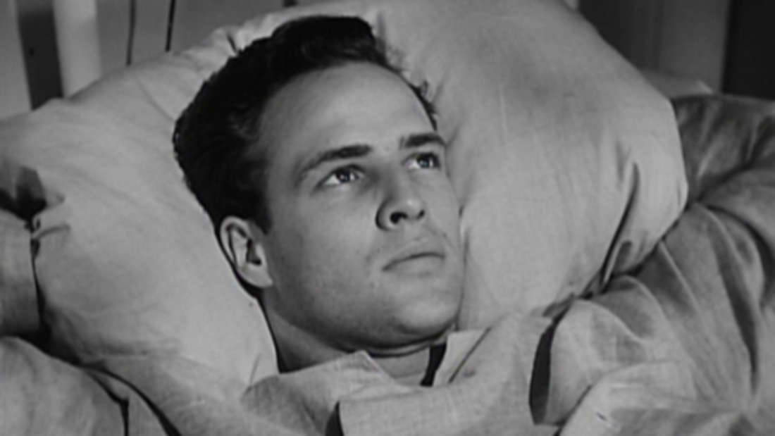 """Marlon Brando in """"Die Männer"""""""