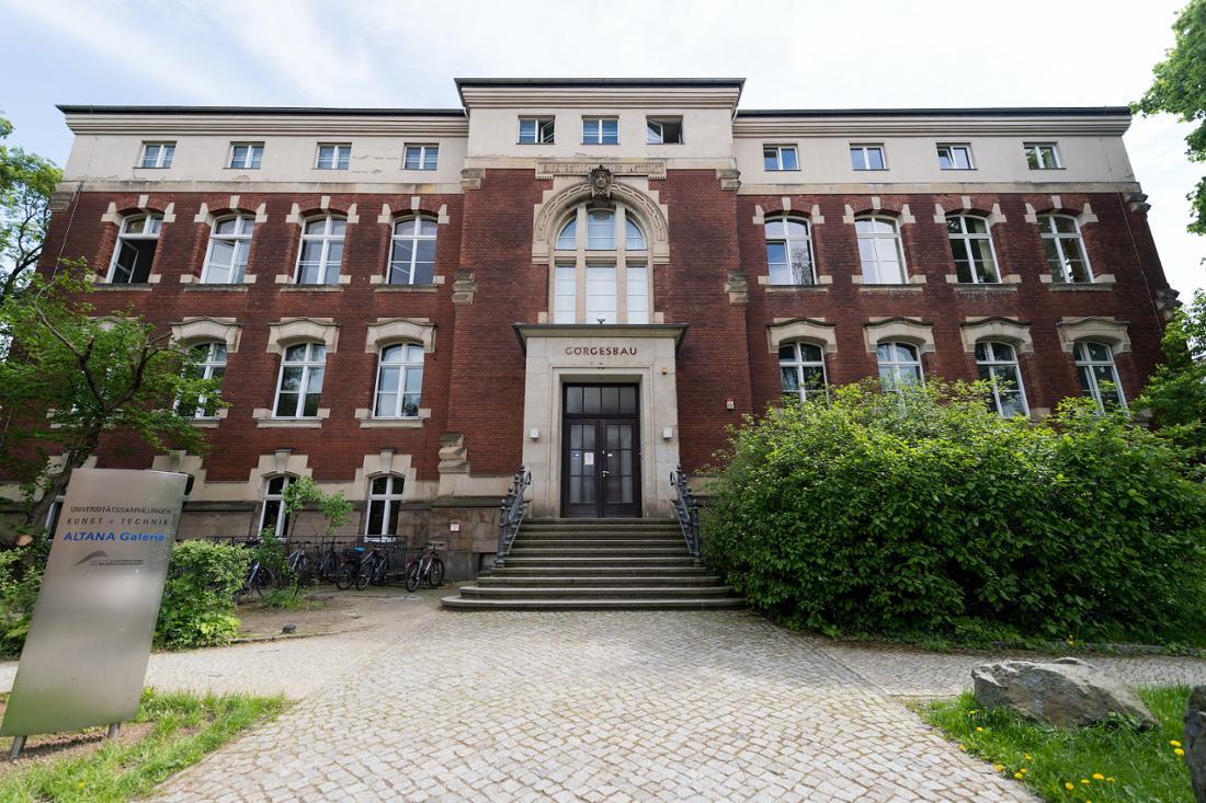 Ein Gebäude der TU Dresden