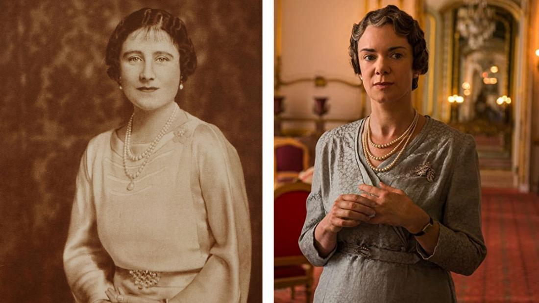 """Ein Portrait von Elizabeth Bowes-Lyon vs. ihre Darstellung in """"The Crown"""""""