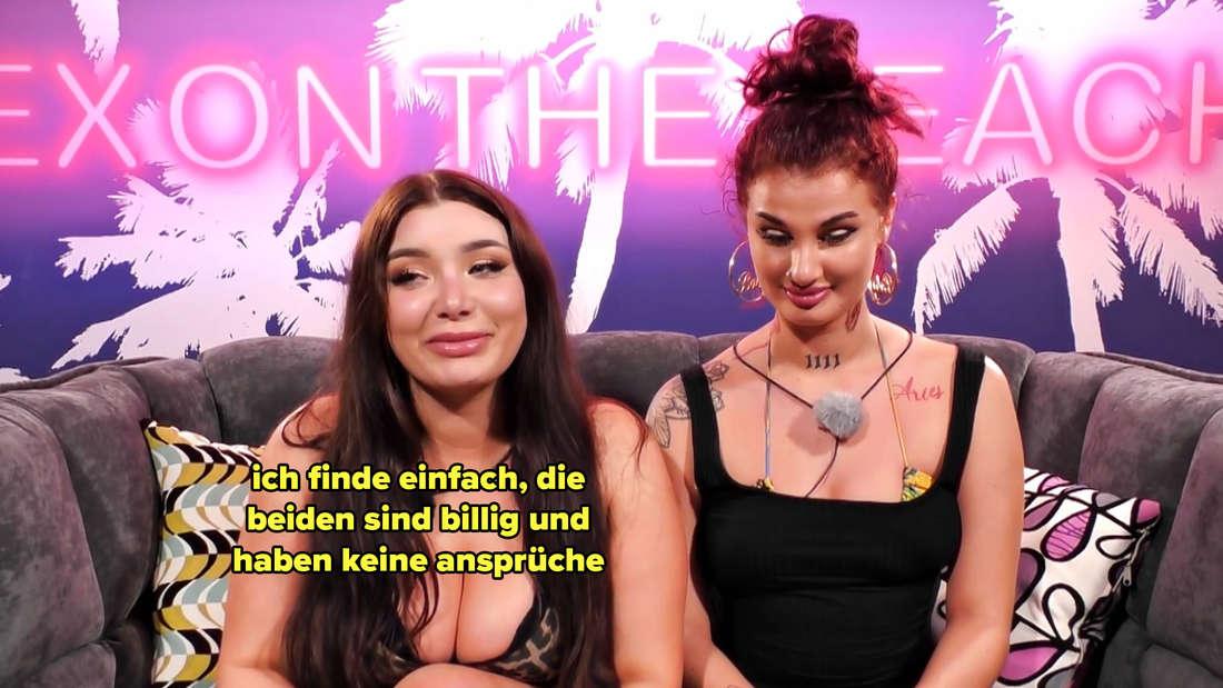 Melody sagt, Celina und Diogo seien billig.