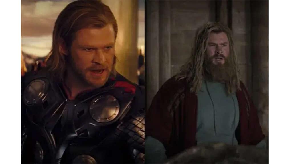 Chris Hemsworth als Thor im ersten Solo-Film und in Avengers: Endgame.