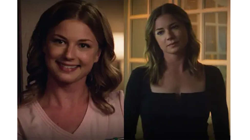 Emily VanCamp als Sharon Carter in The Return of the first Avenger und The Falcon and the Winter Soldier.