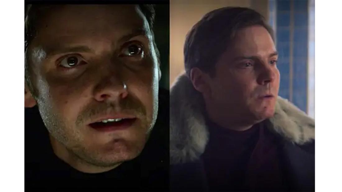 Daniel Brühl als Baron Zemo in Captain America: Civil War und The Falcon and the Winter Soldier.