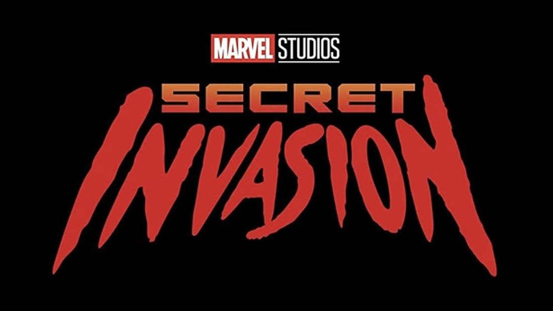 """Die Title Card von der neuen Marvel-Seire """"Secret Invasion"""", die bald auf Disney+ laufen wird."""