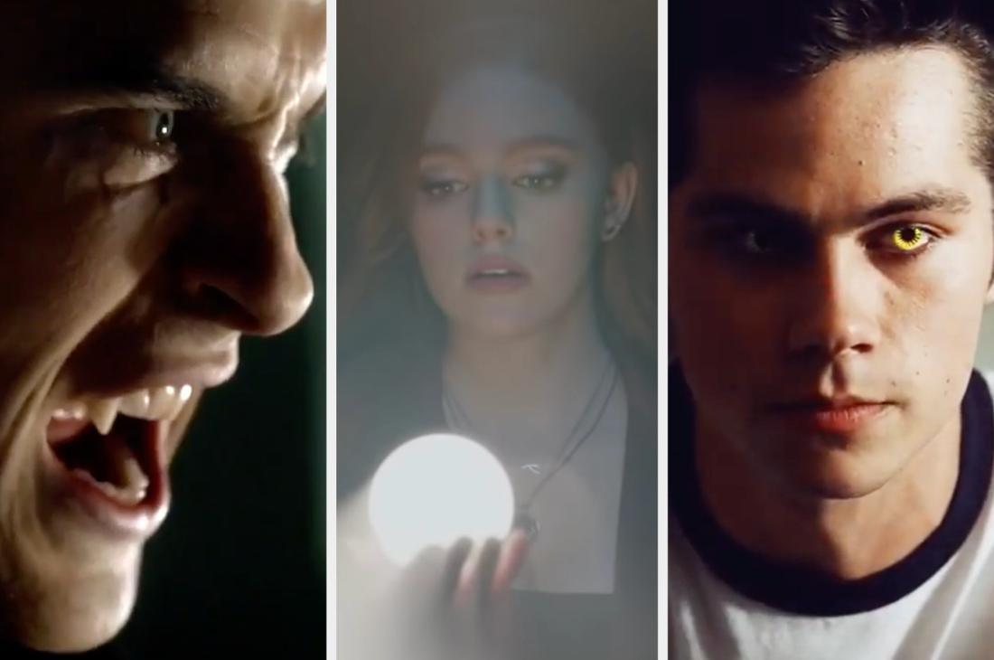 """Paul Wesley in """"Vampire Diaries"""", Danielle Rose Russell in """"Legacies"""" und Dylan O'Brien in """"Teen Wolf"""""""