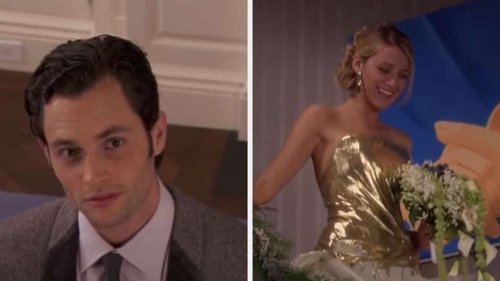 """Dan und Serena in """"Gossip Girl"""""""