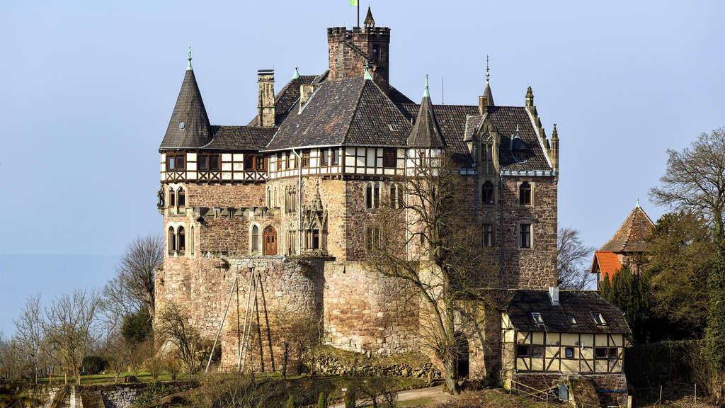Schloss Berlepsch in Hessen in Deutschland
