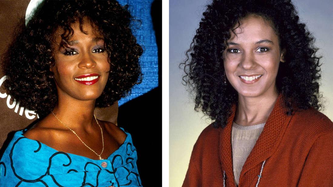 Whitney Houston und Sabrina Le Beauf