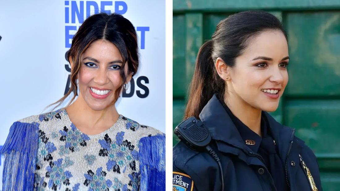 Stephanie Beatriz und Melissa Fumero als Amy Santiago