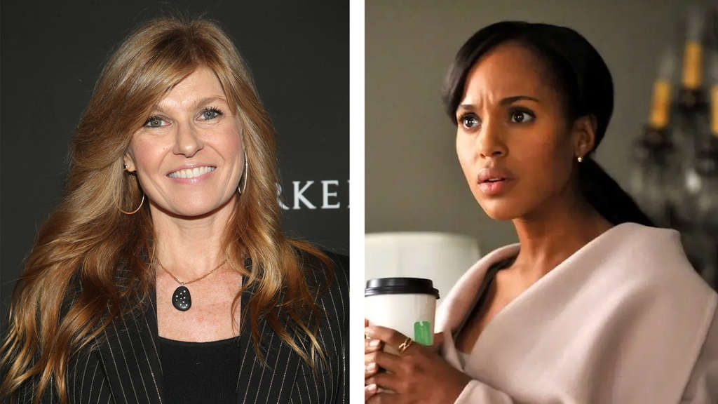Connie Britton und Kerry Washington als Olivia Pope