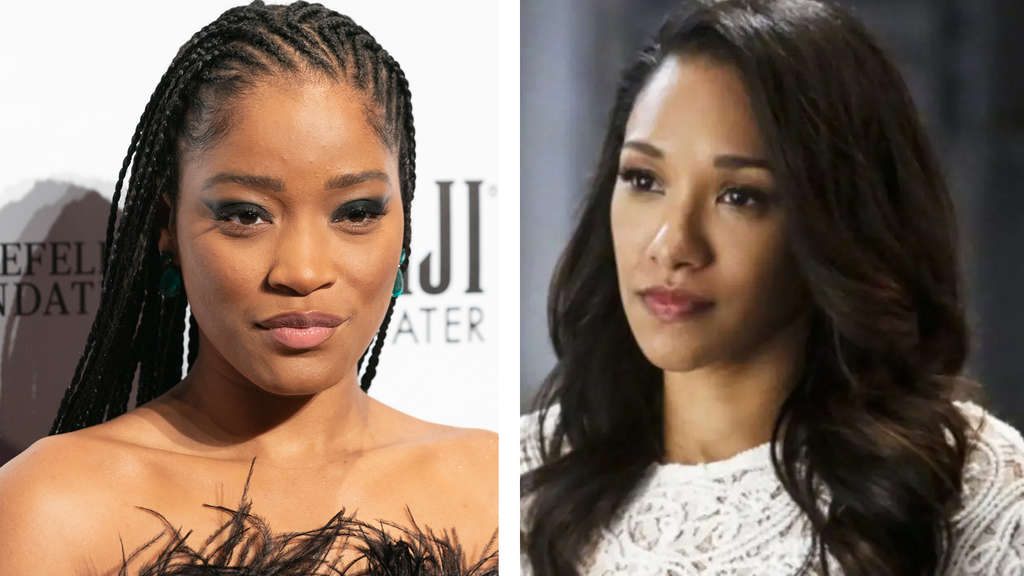 Keke Palmer und Candice Patton als Iris West