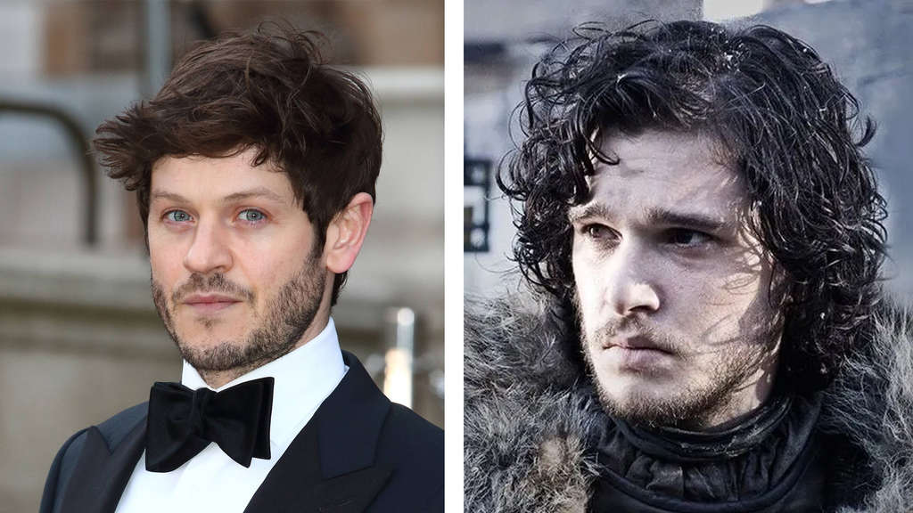 Iwan Rheon und Kit Harington als Jon Snow