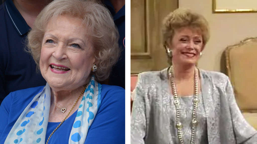 Betty White und Rue McClanahan als Blanche Devereaux