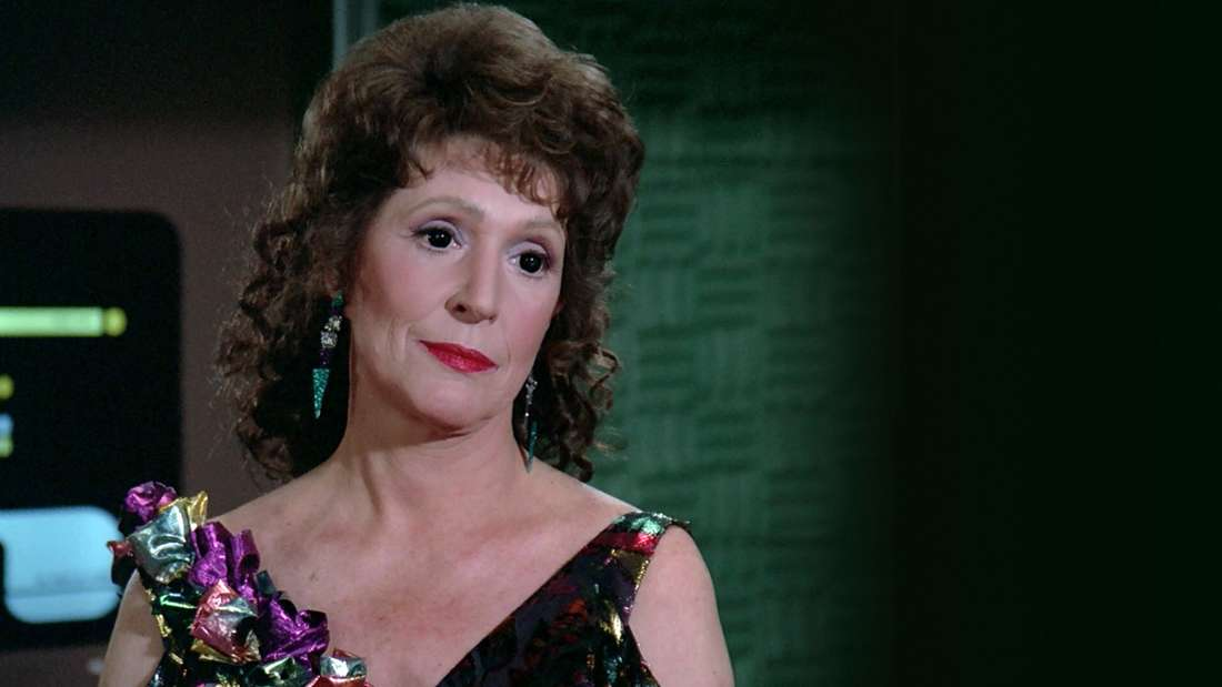 "Lwaxana Troi in  ""Star Trek: The Next Generation"""