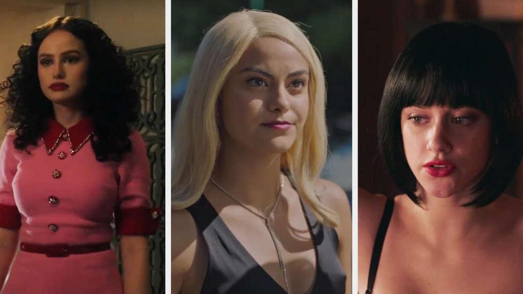 """Madelaine Petsch, Camila Mendes und Lili Reinhart in """"Riverdale"""""""