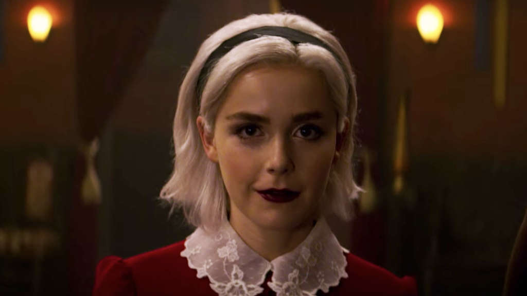 "Kiernan Shipka in Netflix' ""Chilling Adventures of Sabrina"""