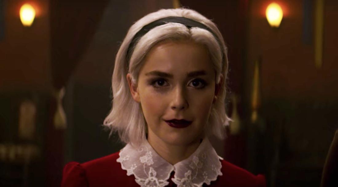 "Kiernan Shipka in Netflix' ""Chilling Adventures of Sabrina"""