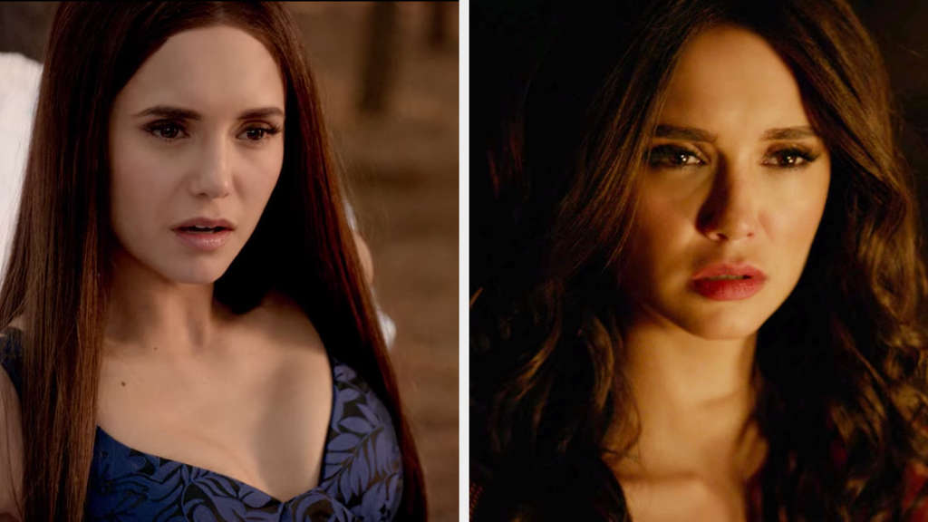 "Nina Dobrev in ""The Vampire Diaries"""
