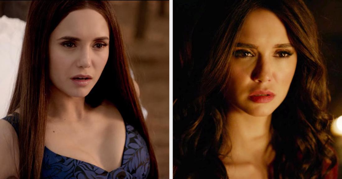 """Nina Dobrev in """"The Vampire Diaries"""""""