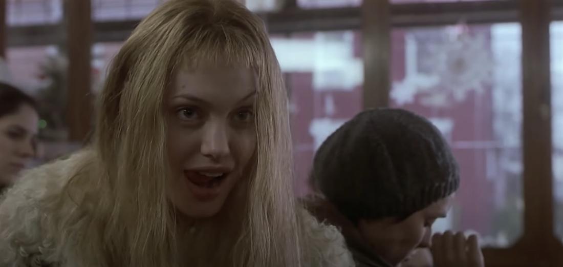 "Angelina Jolie in ""Durchgeknallt"""