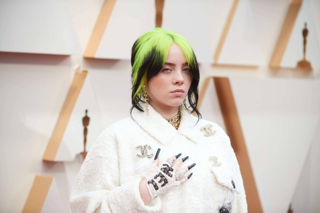 February 9, 2020, Hollywood, California, USA: BILLIE EILISH arrives on the red carpet of The 92nd O