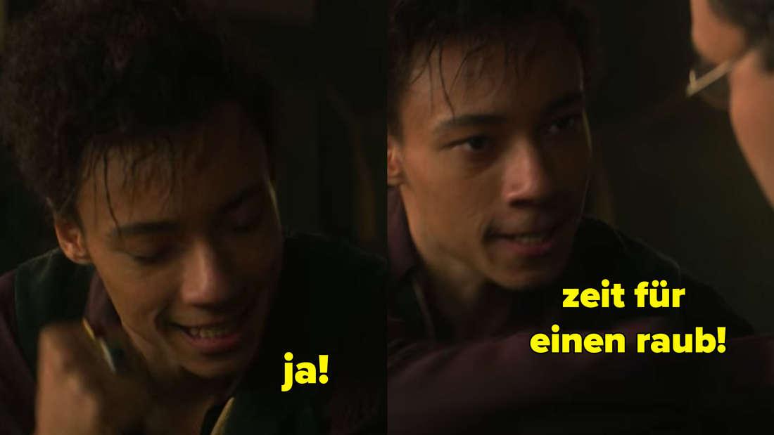 Jesper freut sich auf einen Raub.