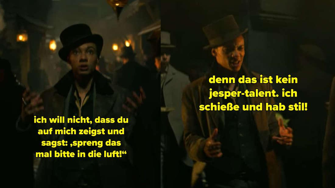 Jesper sagt, er schießt und habe Stil. Dinge in die Luft zu sprengen gehöre nicht zu seinen Talenten.