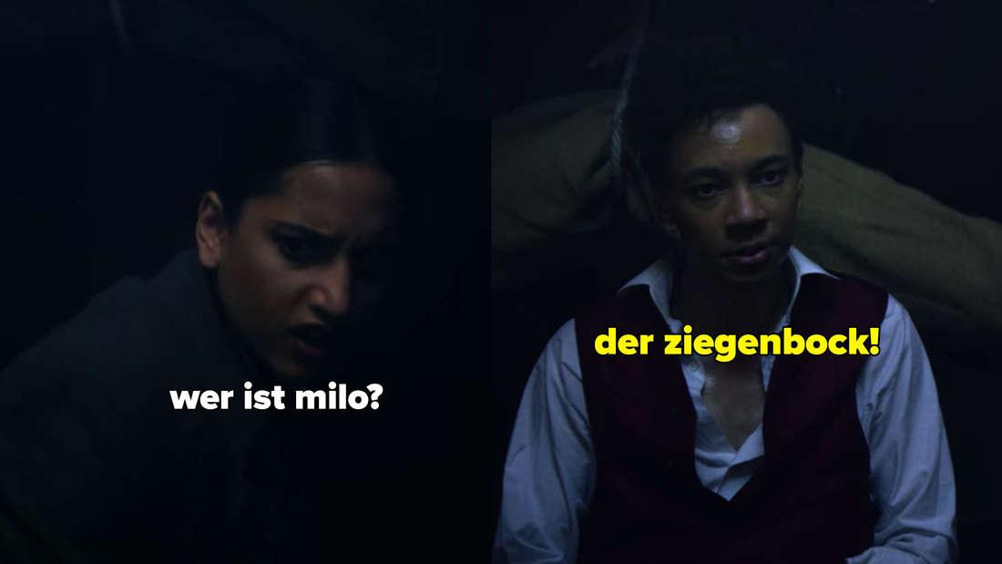 Inej will von Jesper wissen, wer Milo ist.