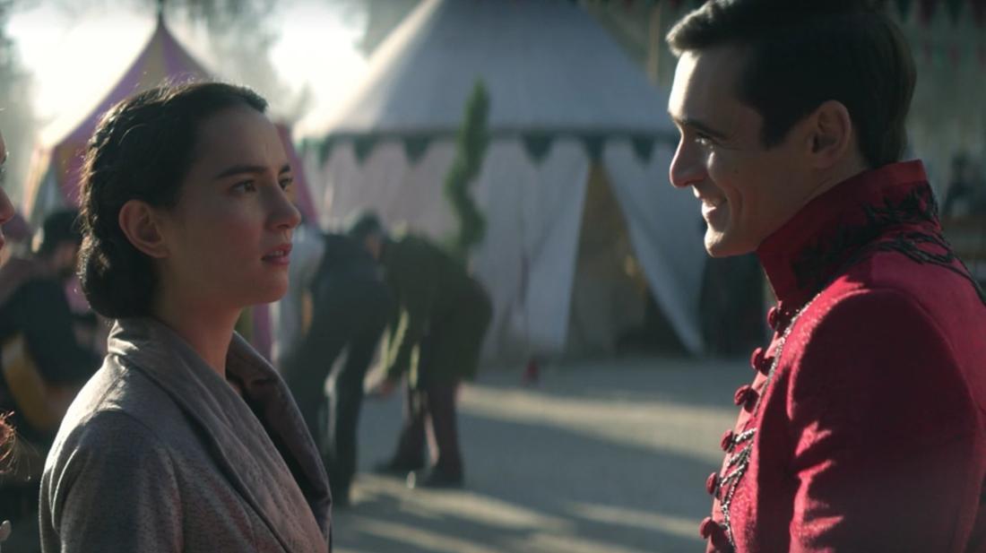 Fedyor spricht mit Alina