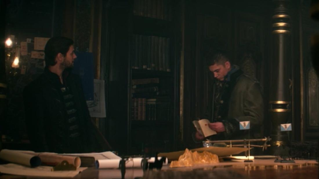 Mal trifft nach seinem Fund des Hirschen bei General Kirigan ein.