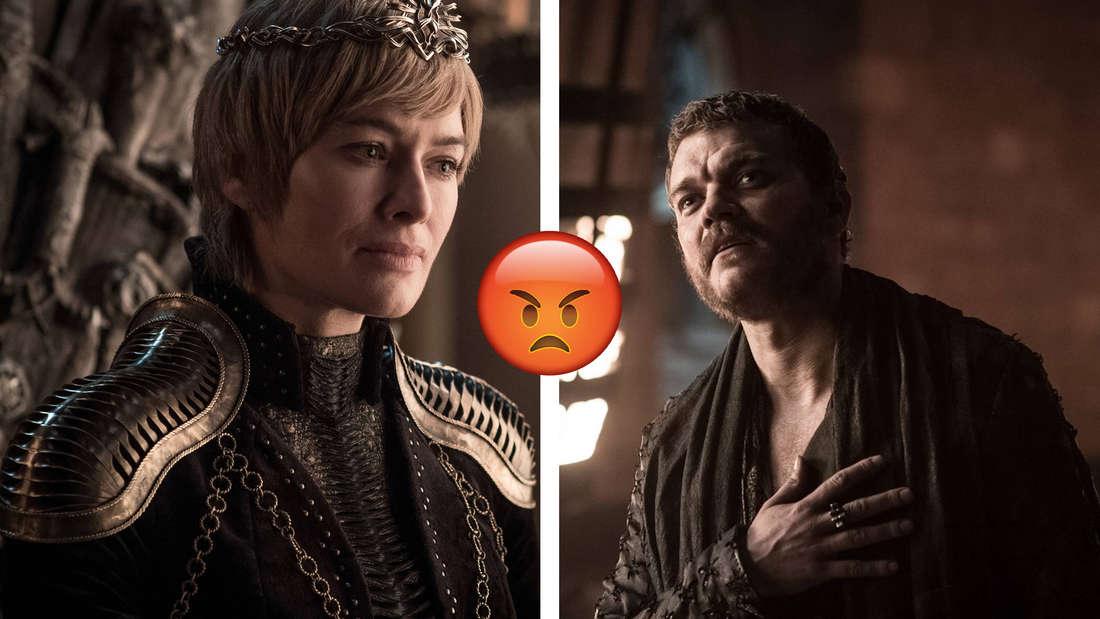 "Cersei Lannister und EuronGraufreud in ""Game of Thrones"""