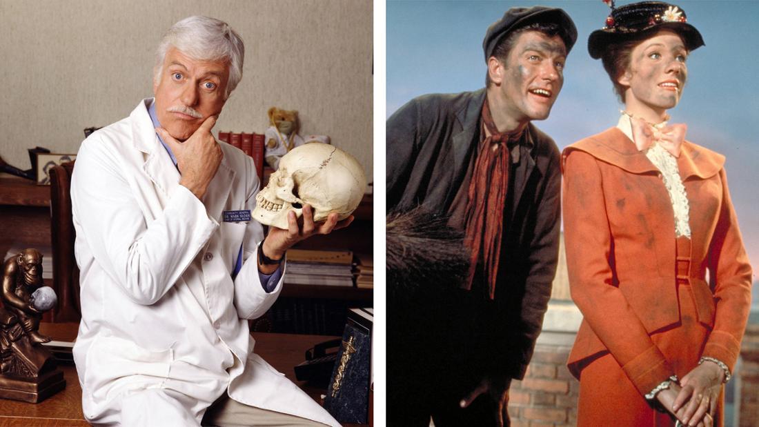 "Dick Van Dykein ""Diagnose: Mord"" und in ""Mary Poppins"" neben Julie Andrews"