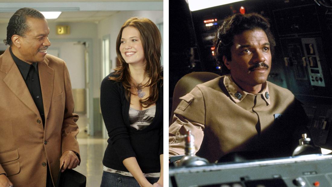 """Billy Dee Williams in """"Scrubs - Die Anfänger"""" und in """"Star Wars"""" als Lando Calrissian"""
