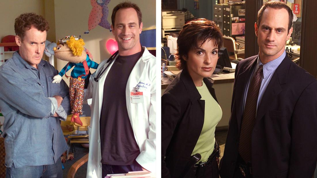 """Christopher Meloni in """"Scrubs - Die Anfänger"""" und in """"Law and Order"""""""