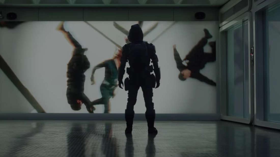 """Taskmaster beobachtet einen Kampf von """"Black Widow"""""""