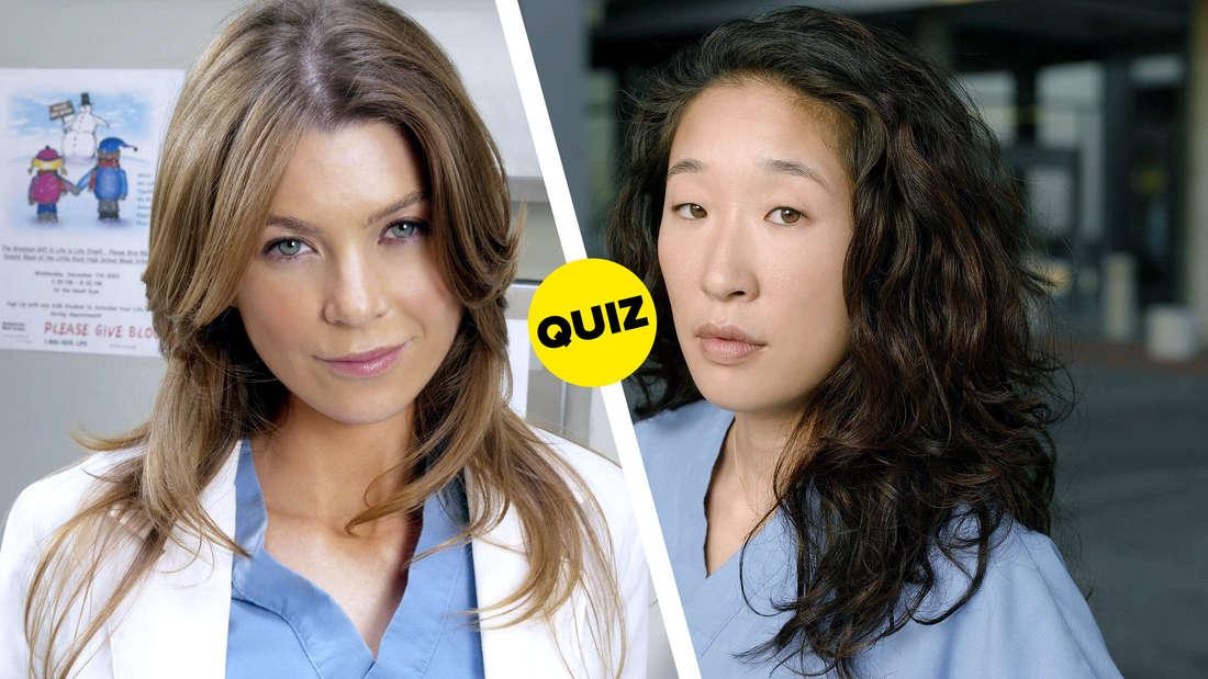 "Meredith Grey und Cristina Yang aus ""Grey's Anatomy"""