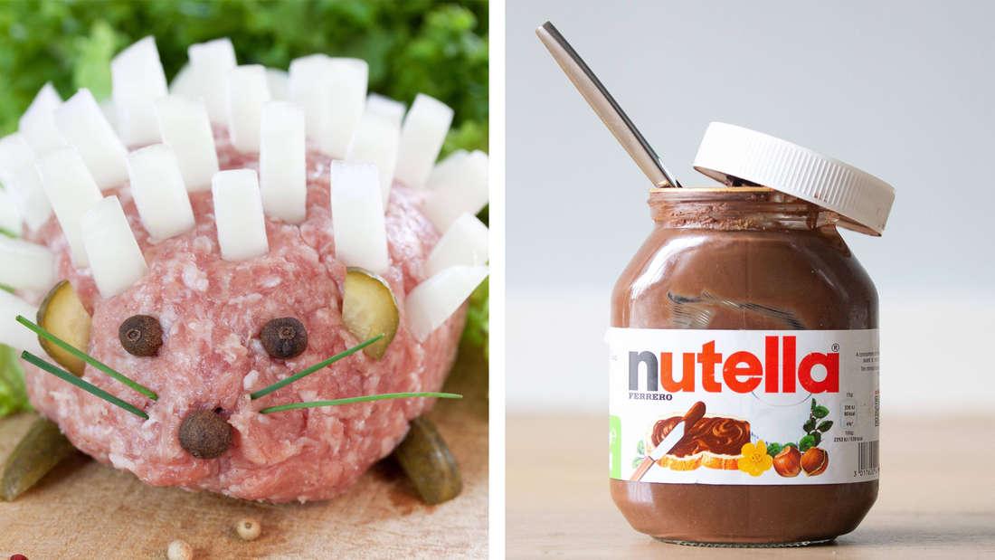 Ein Mettigel und Nutella
