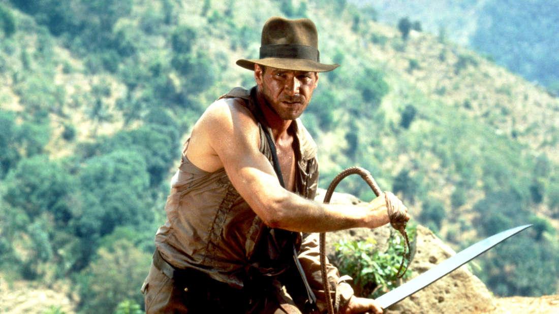 """Harrison Ford in """"Indiana Jones und der Tempel des Todes"""""""