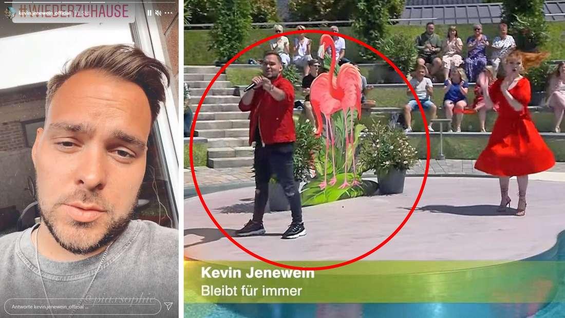 """""""Das letzte Mal"""": DSDS-Star Kevin Jenewein sauer wegen Vollplayback im Fernsehgarten"""
