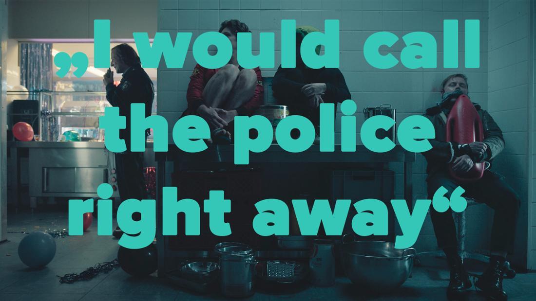 """""""I would call the police right away"""": """"How To Sell Drugs Online (Fast)"""" Staffel 3, die Jungs verstecken sich vor der Polizei neben einem gefesselten Maarten"""