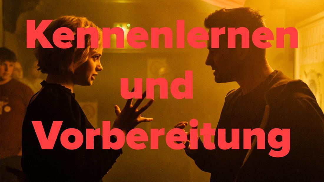 """""""JE SUIS KARL"""": Luna Wedler und Regisseur Christian Schwochow am Set. Text: Kennenlernen und Vorbereitung"""
