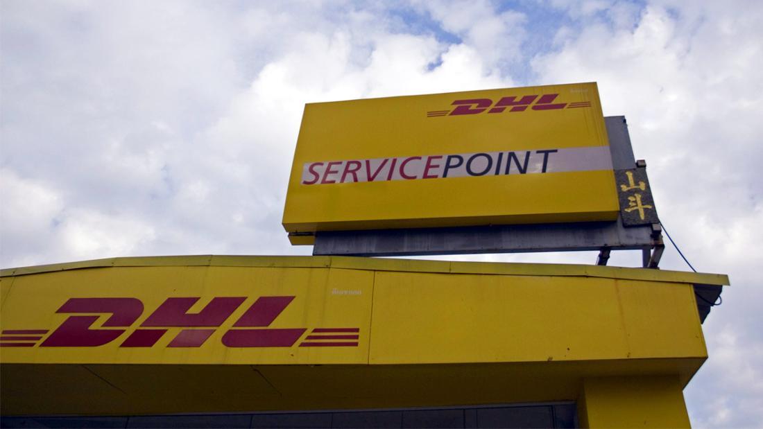 Ein DHL-Servicepoint.