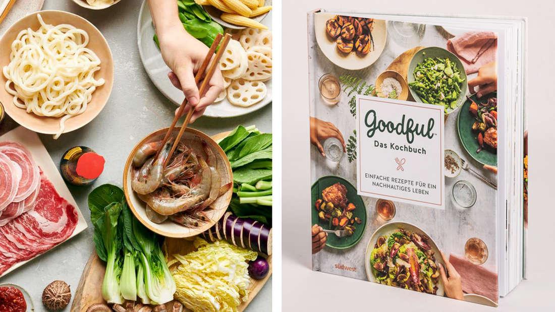 """Das Kochbuch Goodful: Auf dem Titel """"Einfache Rezepte für ein nachhaltiges Leben"""""""