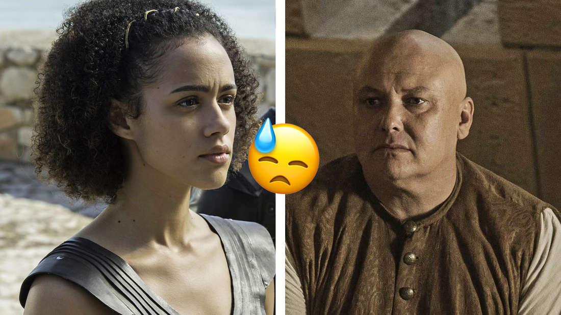 """Nahaufnahmen von Missandei und Varys in """"Game of Thrones"""""""